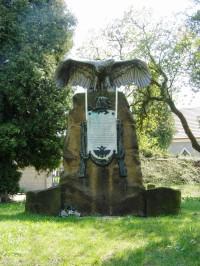 Václavice - pomník rakouského praporu polních myslivců č. 25