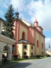 Jilemnice - kostel sv. Vavřince