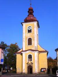 Rokytnice v Orlických horách - kostel Všech Svatých