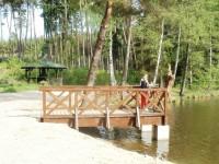 vyhlídkové místo u rybníku Výskyt