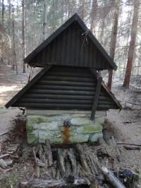 bezejmenná studánka v hradeckých lesích