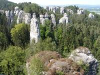 NS Hruboskalsko - Vyhlídka na Kapelu