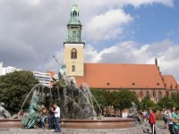 Berlín - kostel Marienkirche