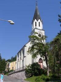 Jánské Lázně - evangelický kostel
