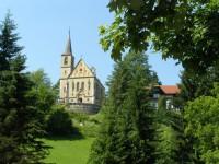 Jánské Lázně - kostel sv. Jana Křtitele