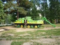 proléžačka - tank