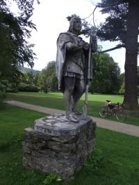 socha sv. Huberta