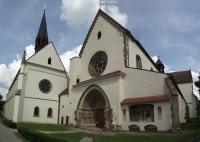 Předklášteří u Tišnova - klášter Porta Coeli s kostely Nanebevzetí Panny Marie