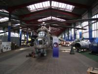 pohled od vstupu do Leteckého muzea Olomouc