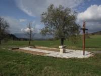 obnovené základy kaple sv. Jana a Pavla