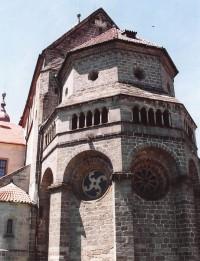 Třebíč – bazilika sv. Prokopa (památka UNESCO)