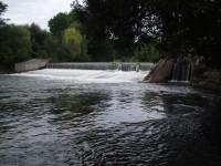 u hydroelektrárny v Třeštině
