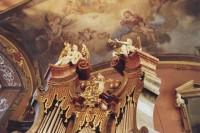 Praha - Zrcadlová kaple  (Klementinum – kaple Zvěstování Panny Marie)