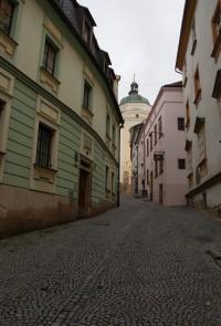 v uličkách staré Olomouce