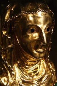 relikviářová busta sv. Ludmily