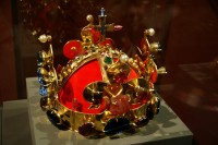 svatováclavská koruna (replika z r. 1995)