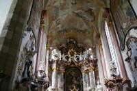 Zlatá Koruna – kostel Nanebevzetí Panny Marie
