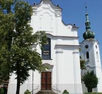 Pelhřimov – kostel sv. Víta se zvonicí