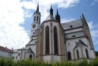 Vyšší Brod - kostel Nanebevzetí Panny Marie