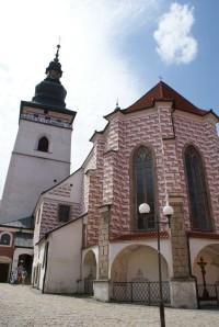 Pelhřimov – bazilika sv. Bartoloměje s vyhlídkovou věží
