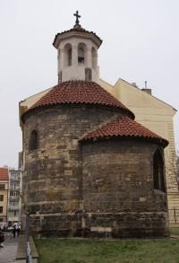 Praha – Nové Město - rotunda sv. Longina (kaple sv. Štěpána)