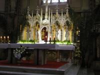 oltář katedrály sv. Václava