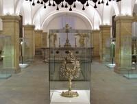 expozice v katedrální kryptě