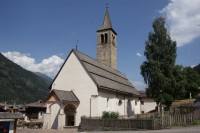 Ossana – kostel sv. Vigilia  (Chiesa di San Vigilio)