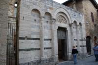 San Gimignano - kostel sv. Františka (Chiesa di San Francesco)