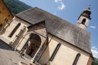 Pellizzano – kostel Narození Panny Marie  (La Chiesa di Santa Maria)