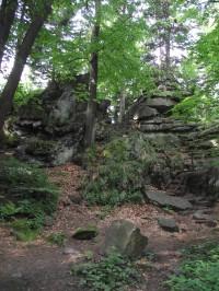 cestou k Čertovým kamenům