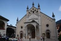 Malè - kostel Nanebevzetí Panny Marie  (Pieve di Santa Maria Assunta)