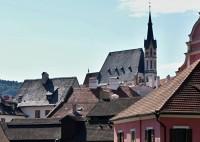 Český Krumlov – kostel sv. Víta