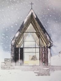 návrh nové kaple