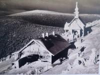 Vřesová studánka - historická pohlednice