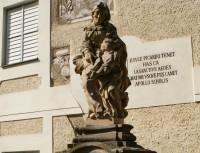 Mladá Boleslav  - socha sv. Anny