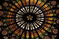 rozeta štrasburské katedrály