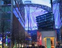 Berlín – obchodní centrum Sony  (Berlin - Sony Center)