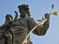 Knínice (u Boskovic)  - socha sv. Josefa