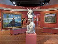 Praha, český impresionismus, Světlo v obraze a Jízdárna Pražského hradu