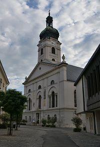 Györ – katedrála Nanebevzetí Panny Marie  (Nagyboldogasszony-székesegyház)