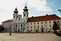 Györ – klášter s kostelem sv. Ignáce z Loyoly  (Loyolai Szent Ignác templom)