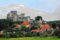 Na Rabí, za zříceninou hradu Rýzmberků