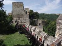 Na Cornštejn, za zříceninou hradu bítovských Lichtenburků
