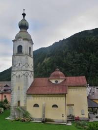 Pontebba – kostel sv. Jana Křtitele  (Chiesa di San Giovanni Battista di Pontafel)