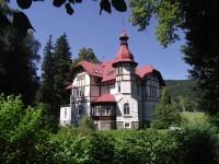 Vrbno pod Pradědem – secesní vila Grohmannů (Parkhotel garni)