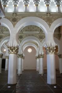 Toledo – synagoga a chrám Santa Maria la Blanca (sinagoga y templo)