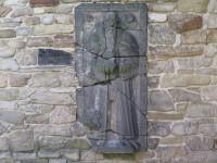 Zaječí – náhrobní kámen kněze Stanislava Reisentera