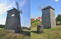 Vrbice - větrný mlýn