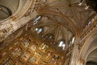 Toledo – katedrála Panny Marie 2 – interiér chrámu, kaple  (Catedral de Santa María)